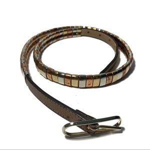 Vintage Morris Moskowitz Metal Belt